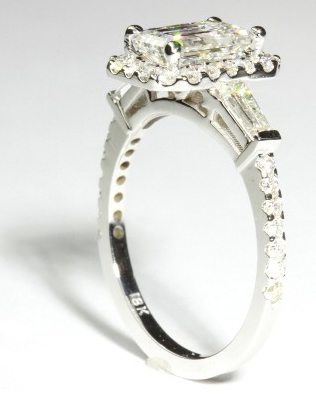 Pave Engagements Rings