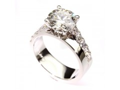 Platinum Diamond Custom Engagement Ring